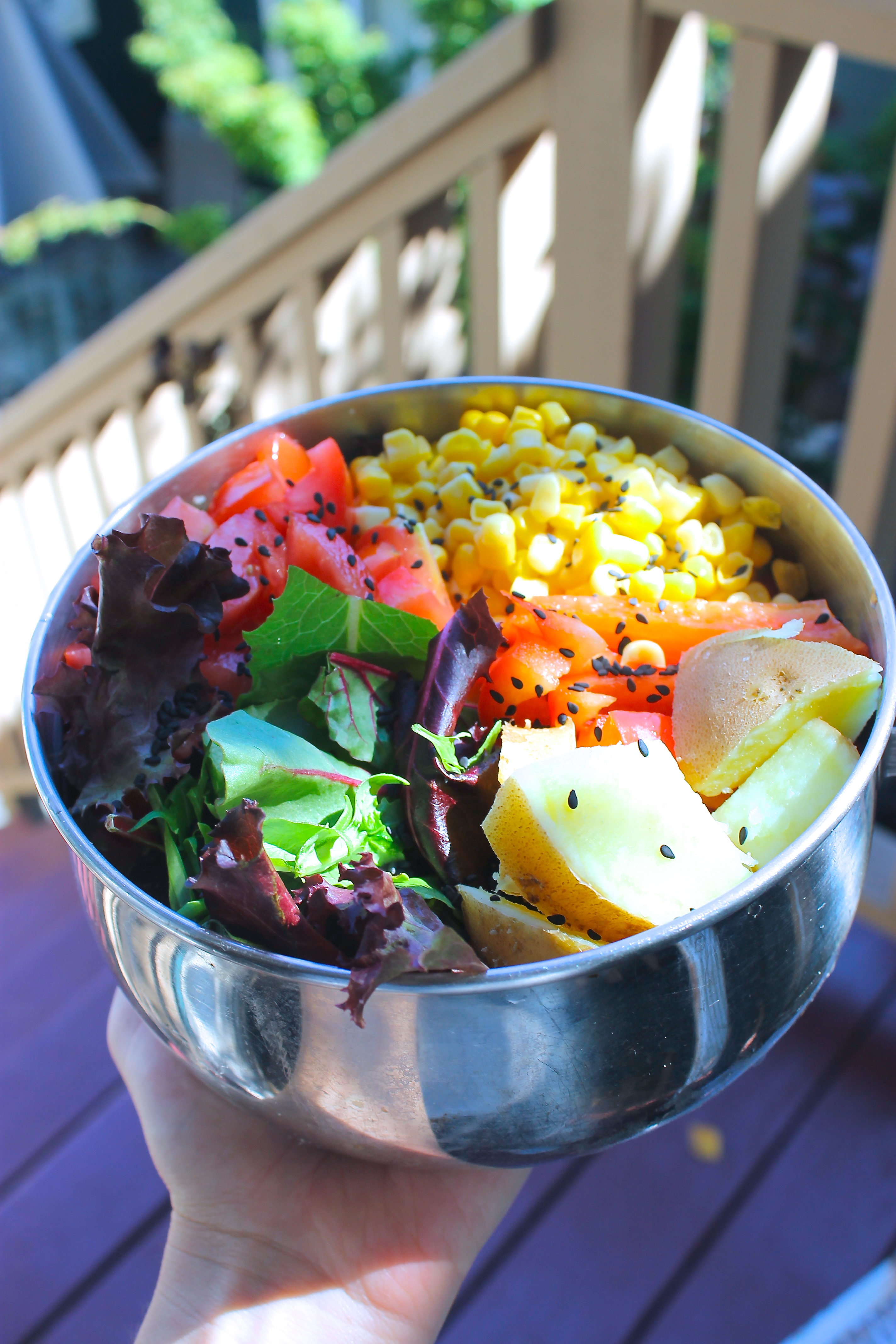 The Best LunchBox Salad (On a Student Budget!)