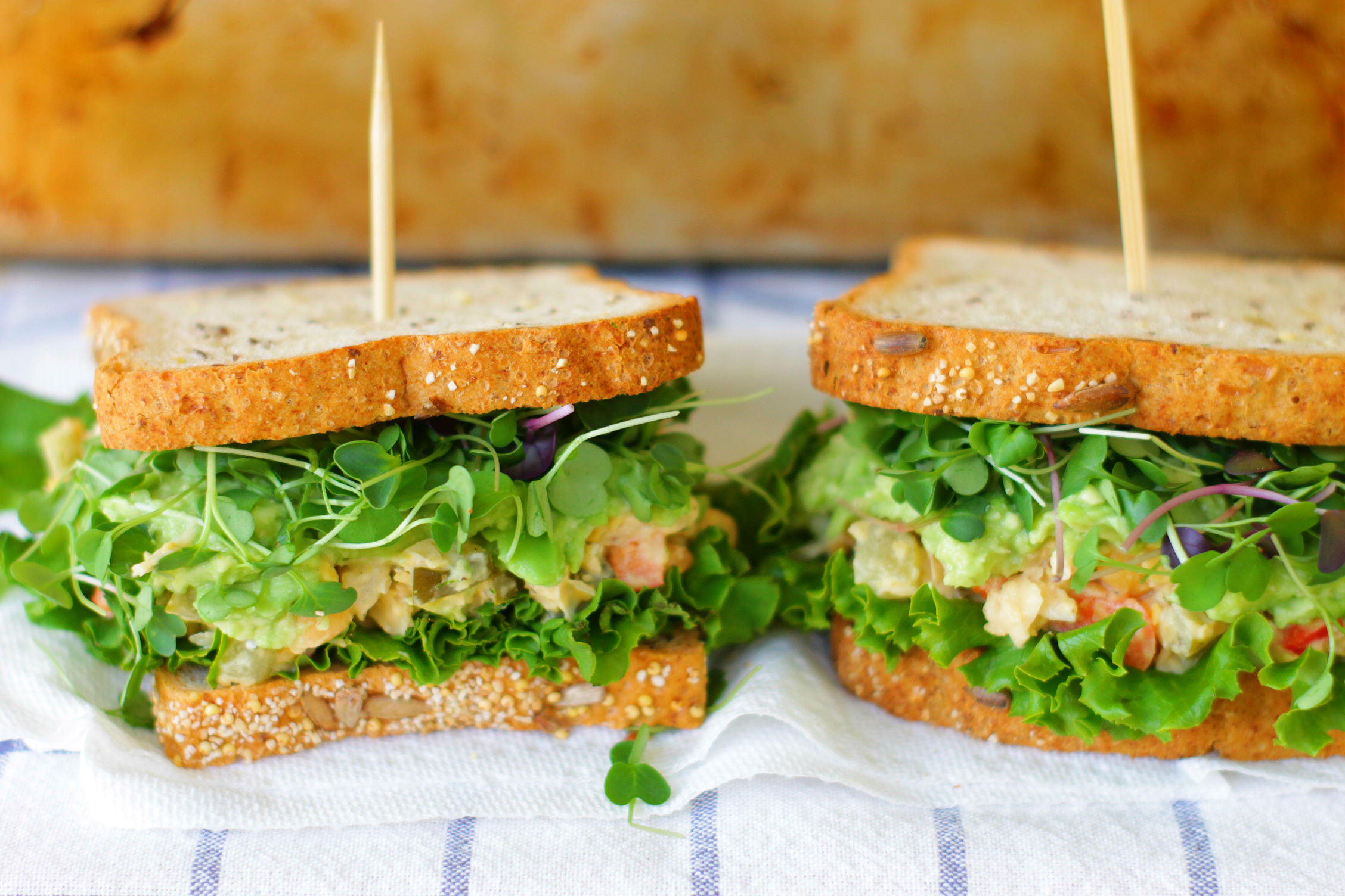 Gluten-Free Chickpea Salad Sandwiches