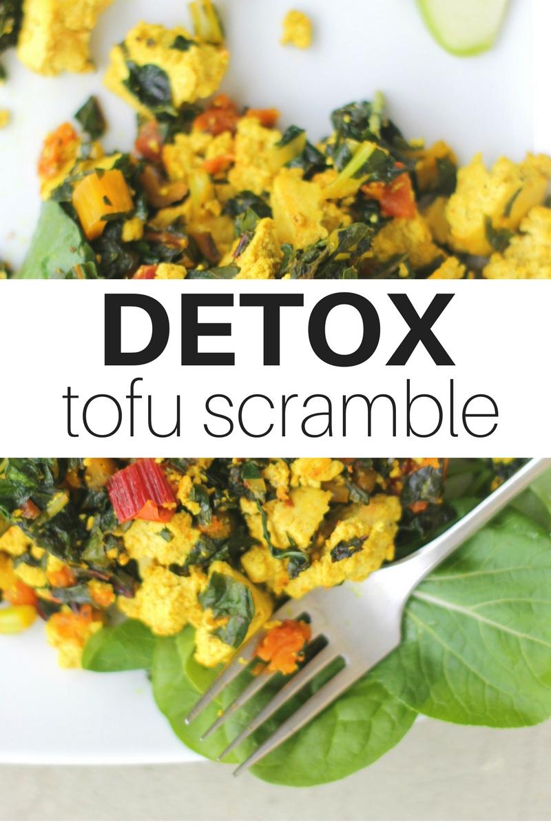 Detox Tofu Scramble