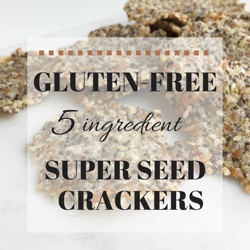 Rachelle from Beyond Nourished Shares Her Super Seed Crackers Recipe