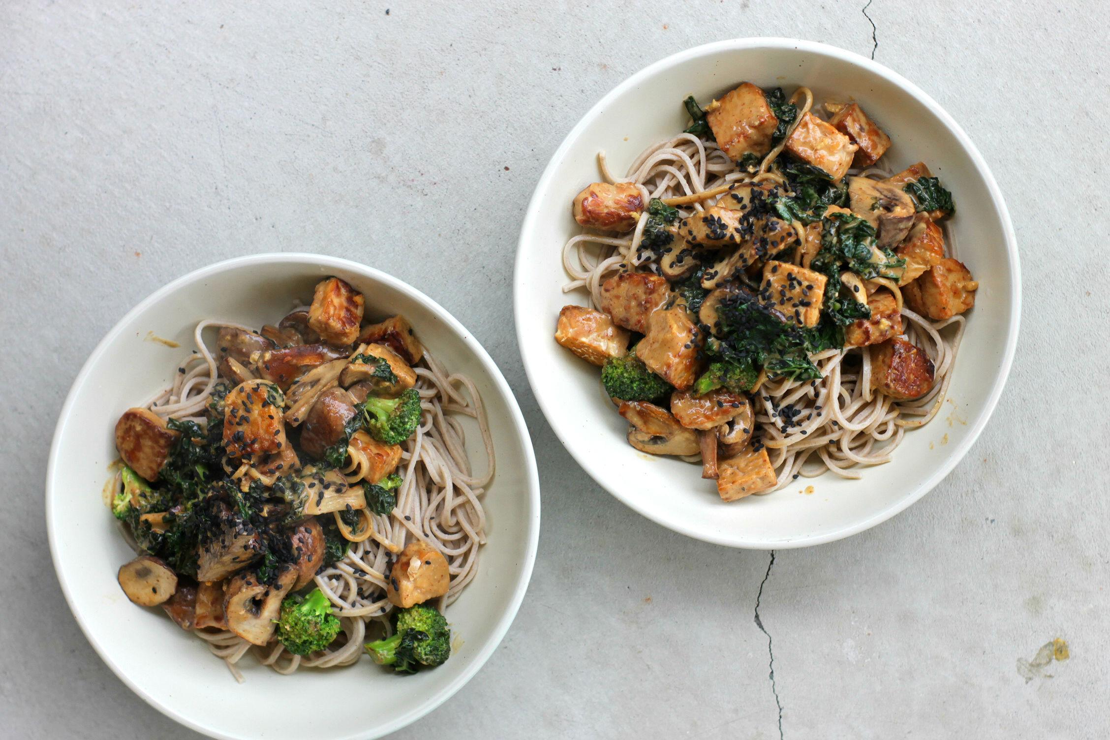 15-Minute Soba Noodle Bowls