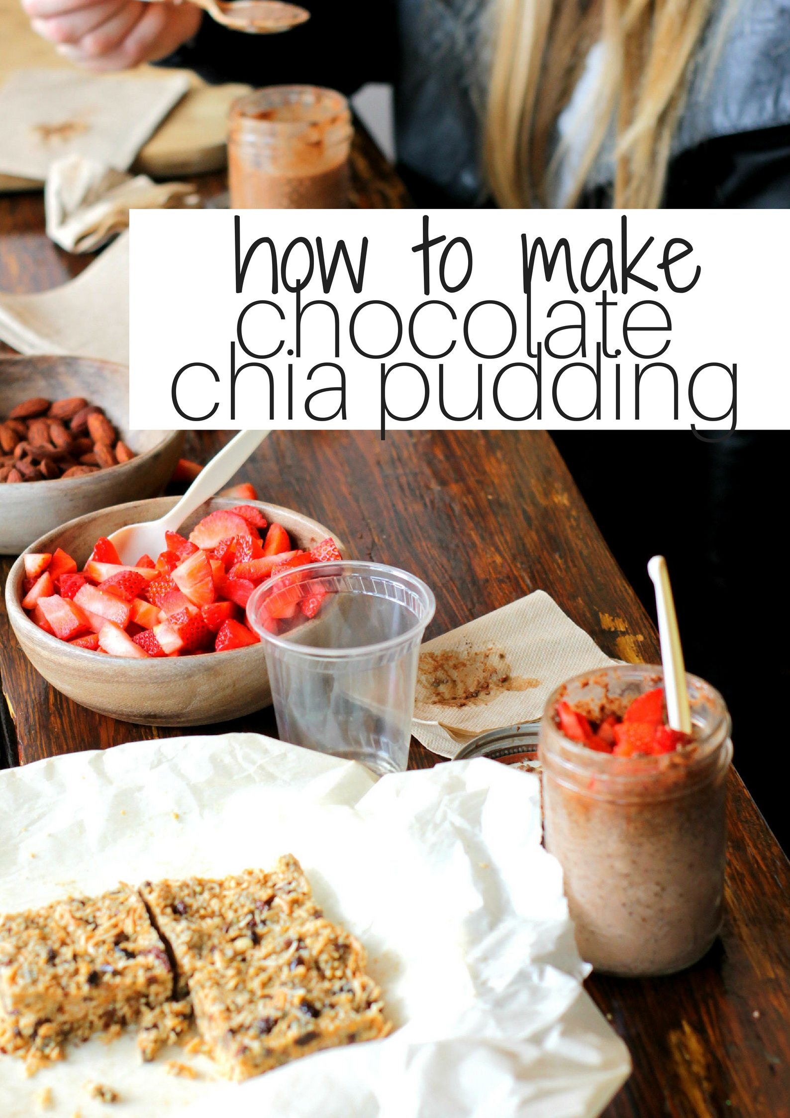 Chocolate Chia Pudding Cups