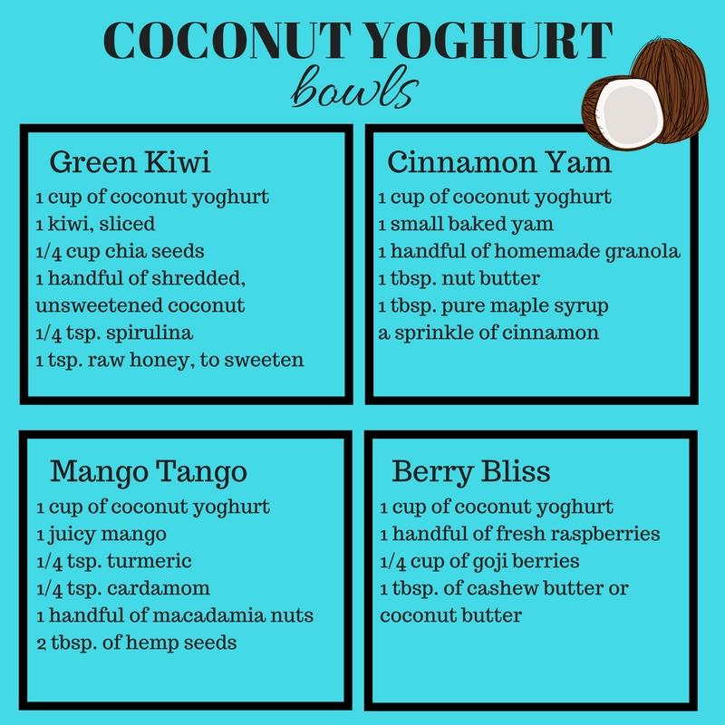 Coconut Yoghurt Bowls