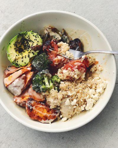 Roasted Veggie Bowl