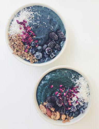 Unicorn Smoothie Bowls (Low-Sugar Option)