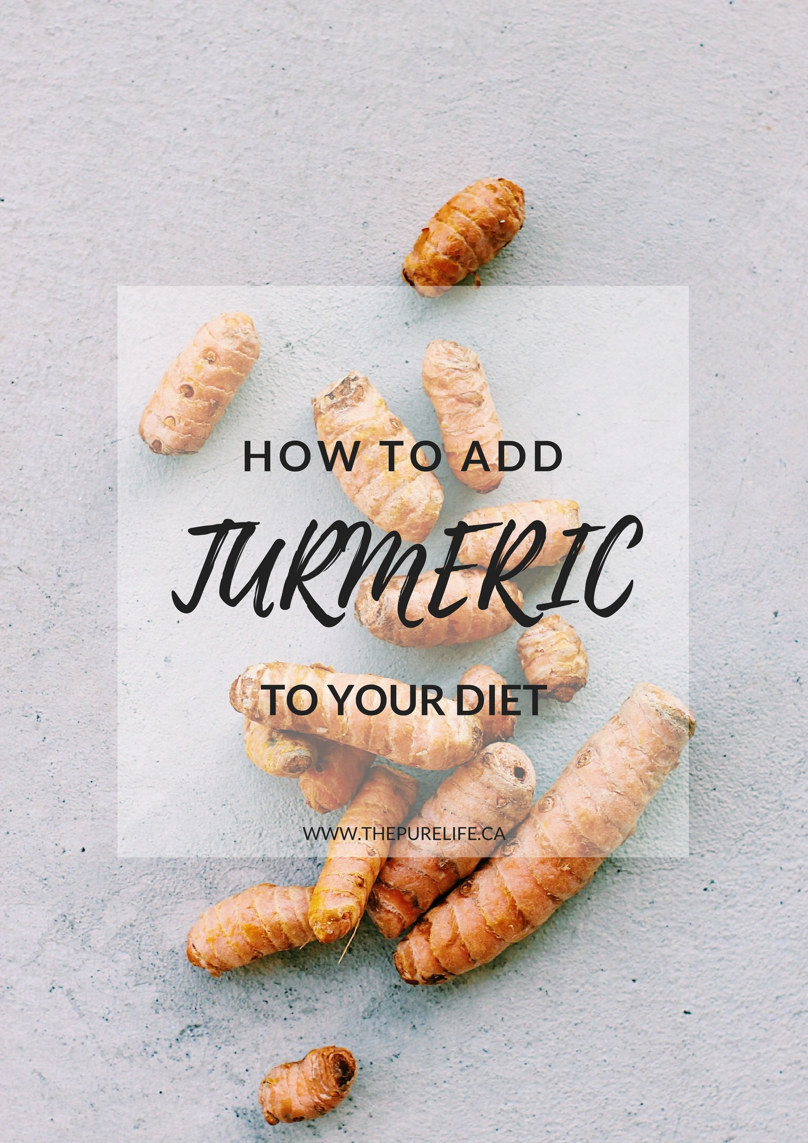 How to Add Turmeric to Your Diet