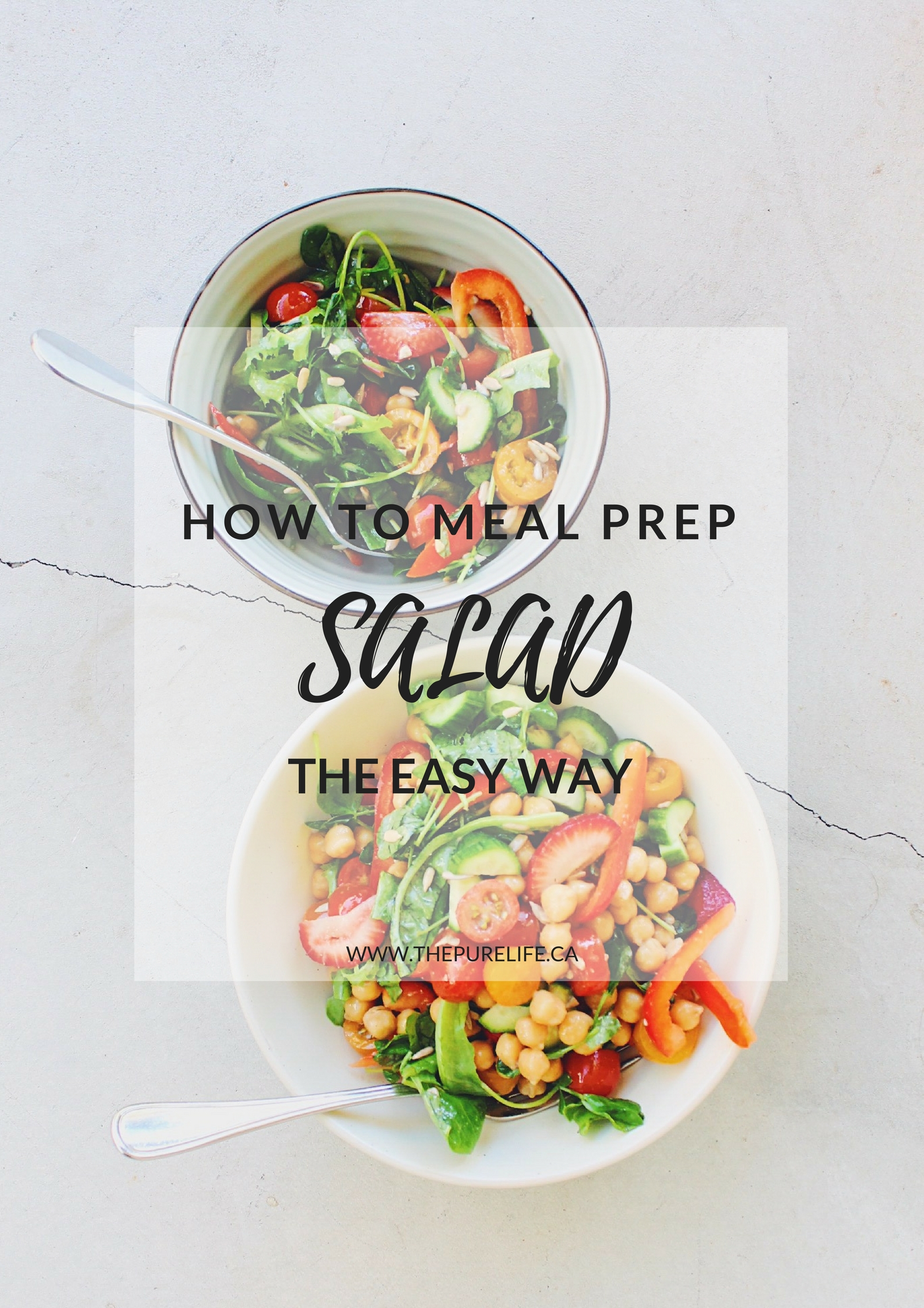 How to Meal Prep Salad