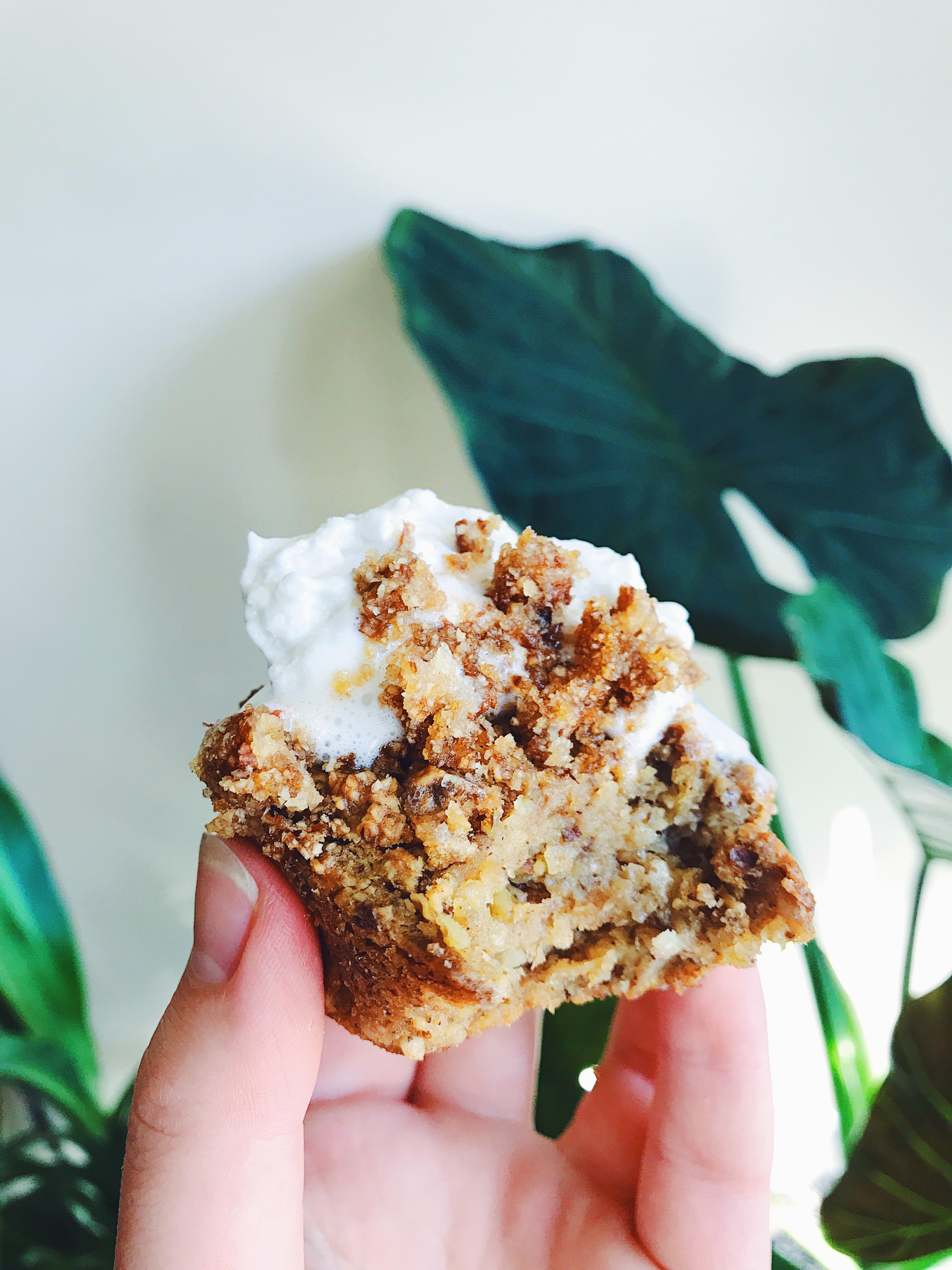 Banana Oat Flour Muffins