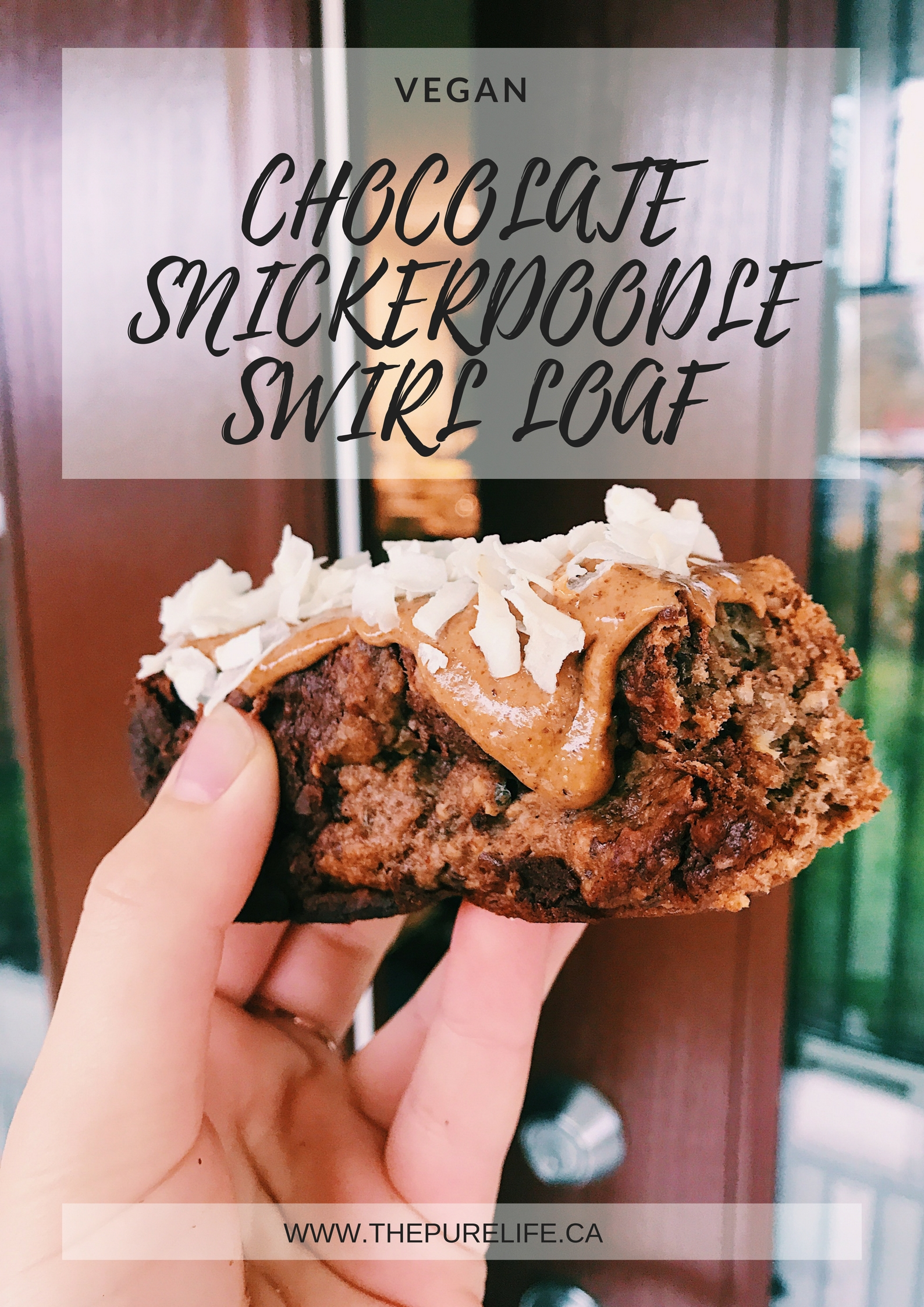 Chocolate Snickerdoodle Swirl Loaf