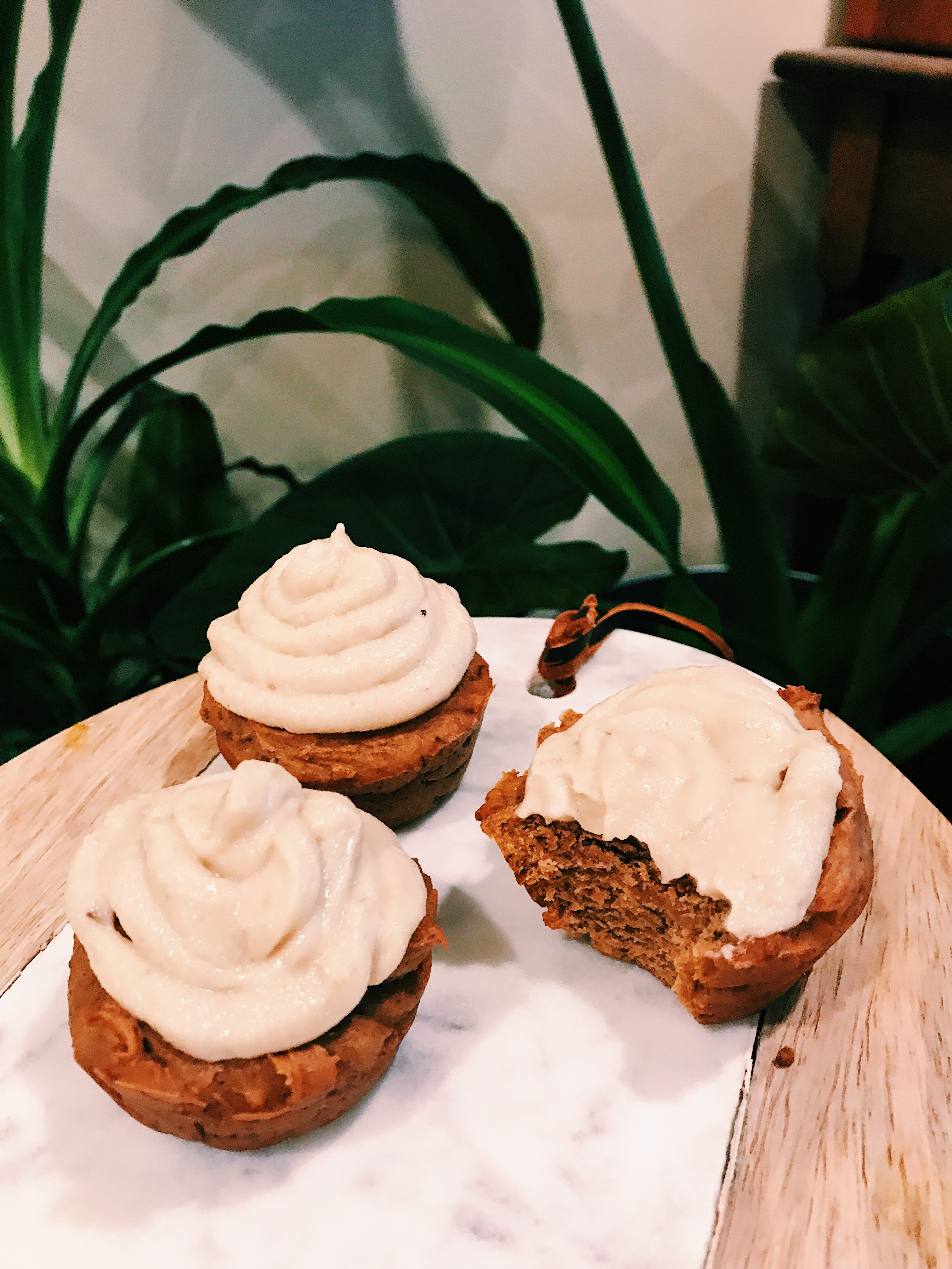 Gingerbread Sweet Potato Muffins