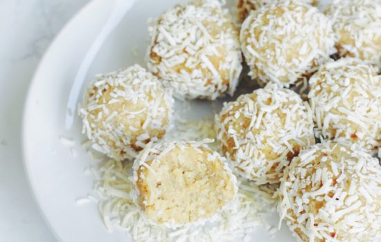 Lemon Coconut Energy (Snow)Balls
