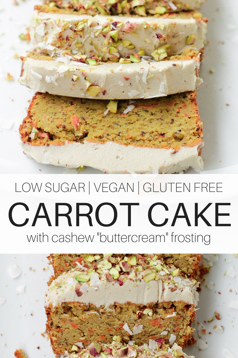 Healthy Carrot Cake Loaf