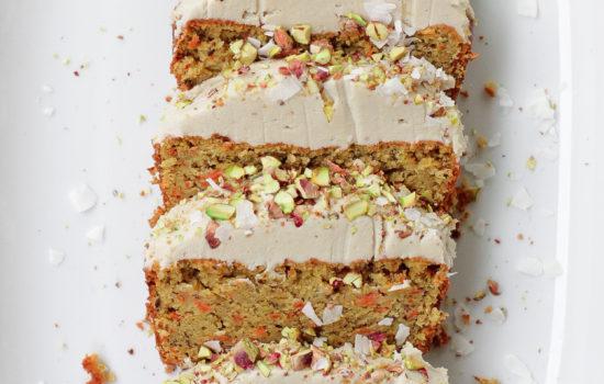 Vegan Carrot Cake Loaf