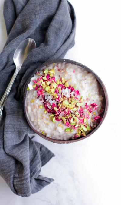 Dairy Free Rice Pudding