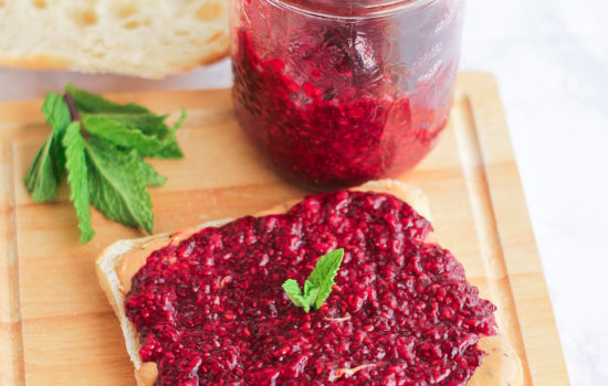 Healthy Chia Seed Jam