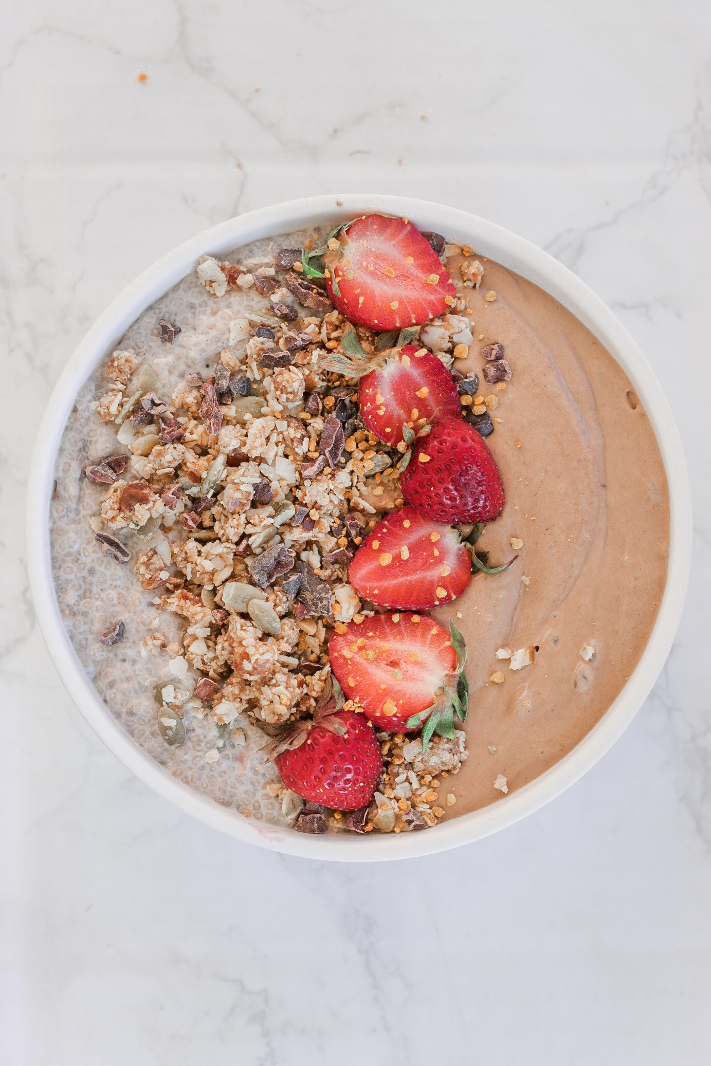Recipe: Hormone-Balancing Chocolate Zucchini Smoothie Bowl