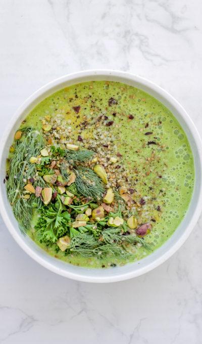 Recipe: Green Glow Gazpacho
