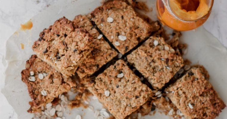 Recipe: Pumpkin Spice Granola Bars
