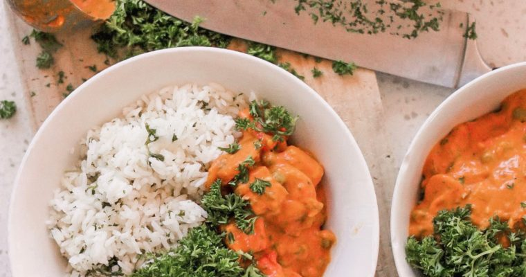 Recipe: Indian-Style Easy Veggie Curry (GF+DF)