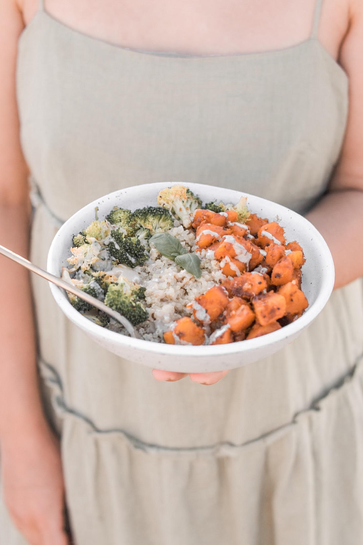 Recipe: Broccoli, Quinoa & Pumpkin Bowl
