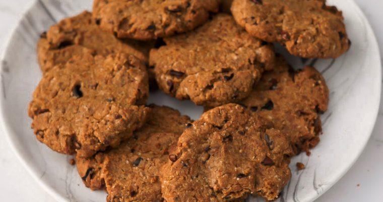 Recipe: Vegan, Nut-Free Buckwheat & Tahini Cookies