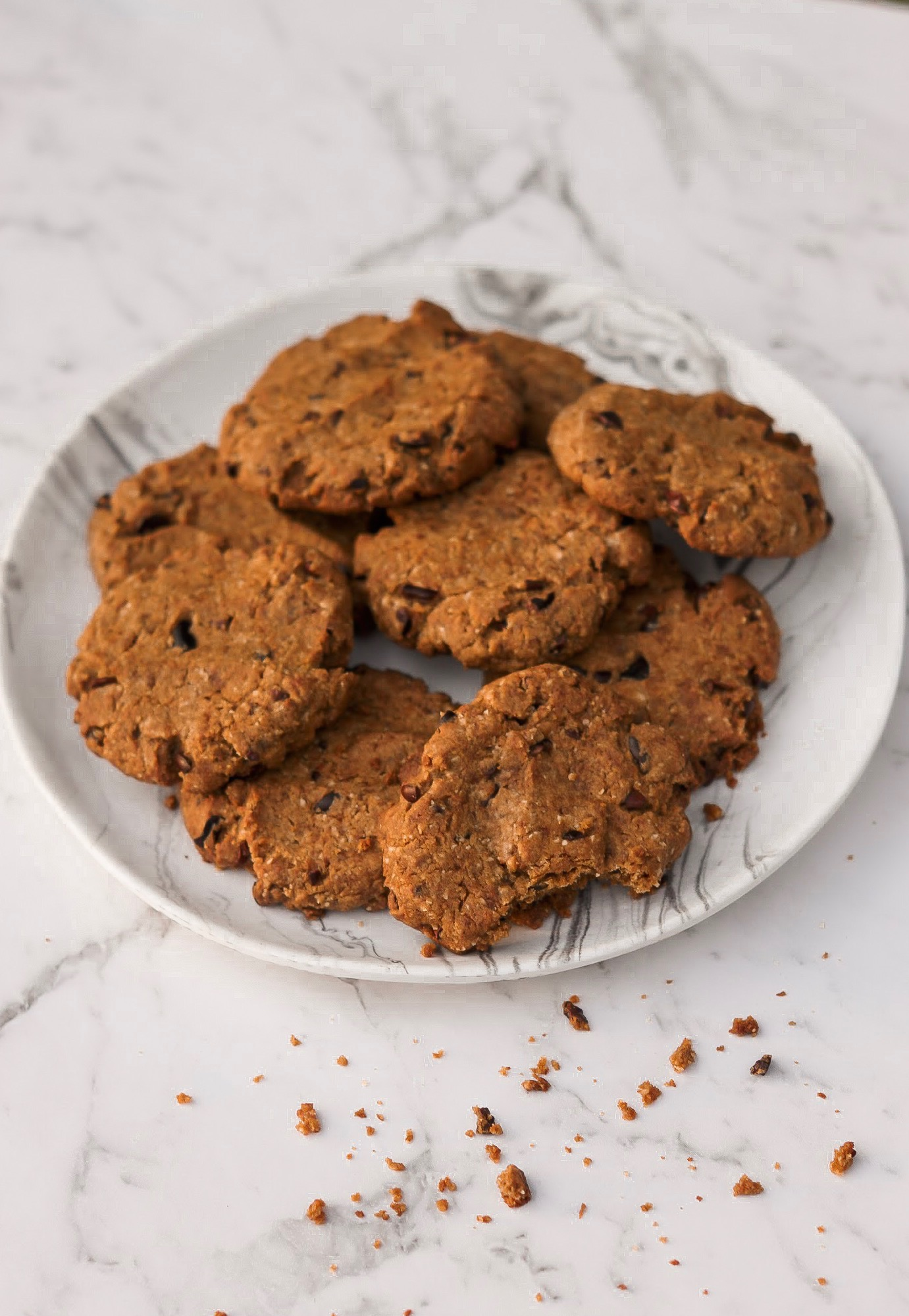 Recipe: Vegan, Nut-Free Buckwheat & Tahini Cookies