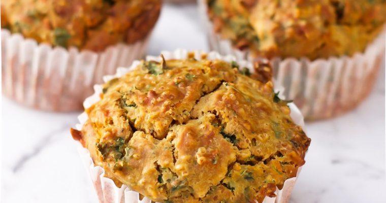 Recipe: Savoury Millet Breakfast Muffins (Dairy Free)