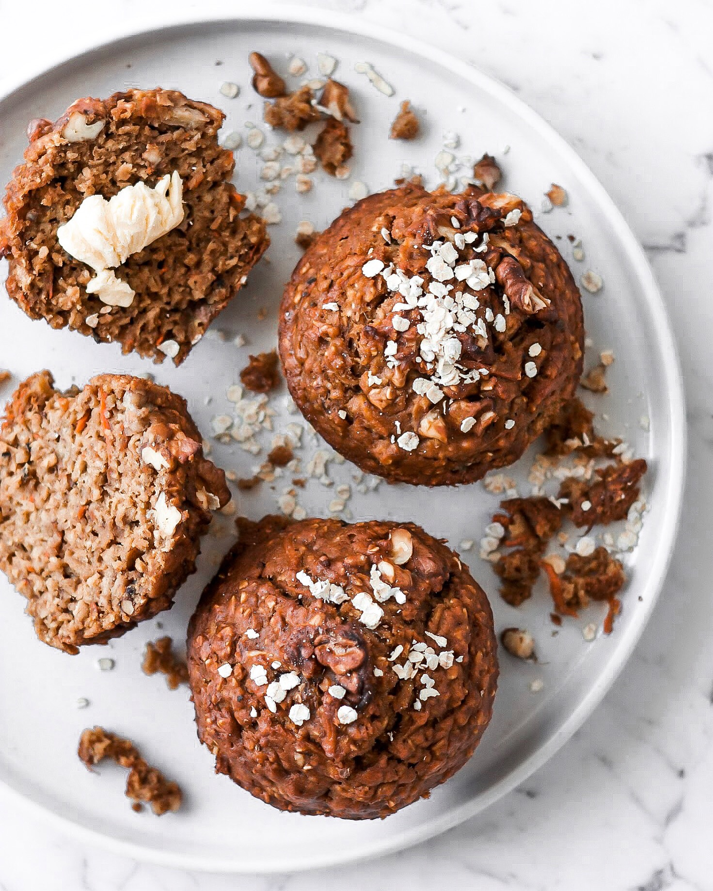 Recipe: Chai Spiced Morning Glory Muffins (DF)