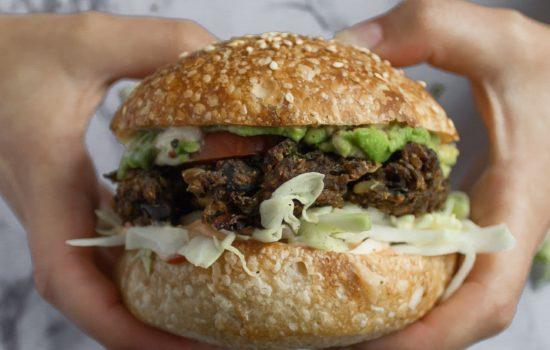 Recipe: Black Bean Veggie Burgers (Vegan & GF)