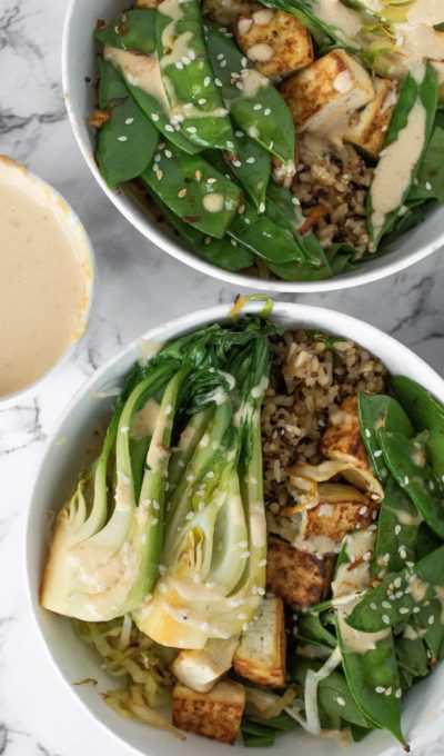 Recipe: Peanut Satay Tofu Bowls to Support Detoxification
