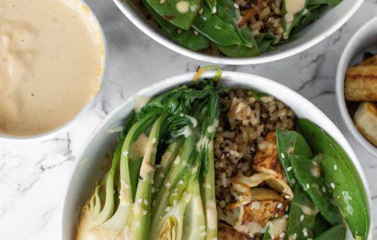 Recipe: Peanut Satay Tofu Bowls to Support Detoxification
