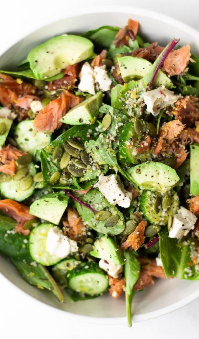 Sisley's Favourite Salmon and Greens Salad Recipe
