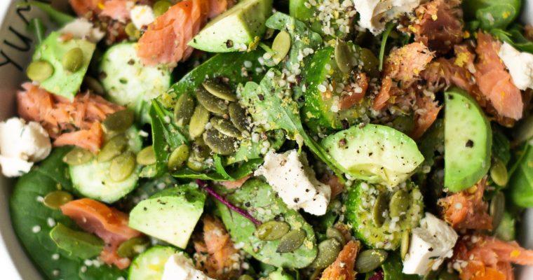Sisley's Favourite Salmon and Greens Salad Recipe