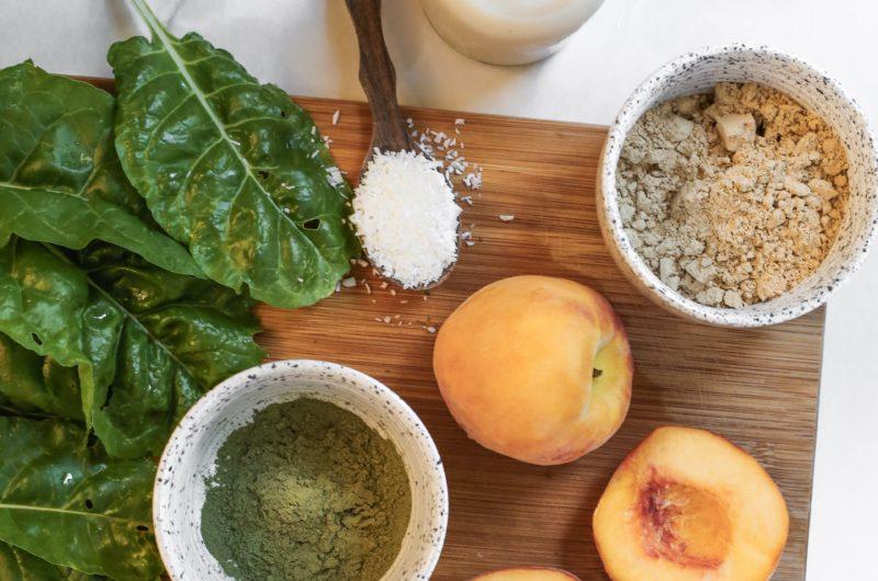 Peachy Protein Smoothie Recipe