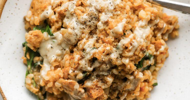 Coconut, Tomato and Lentil Stew Recipe (Vegan, GF)