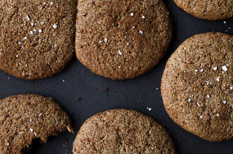 Gingersnap Tahini Cookies