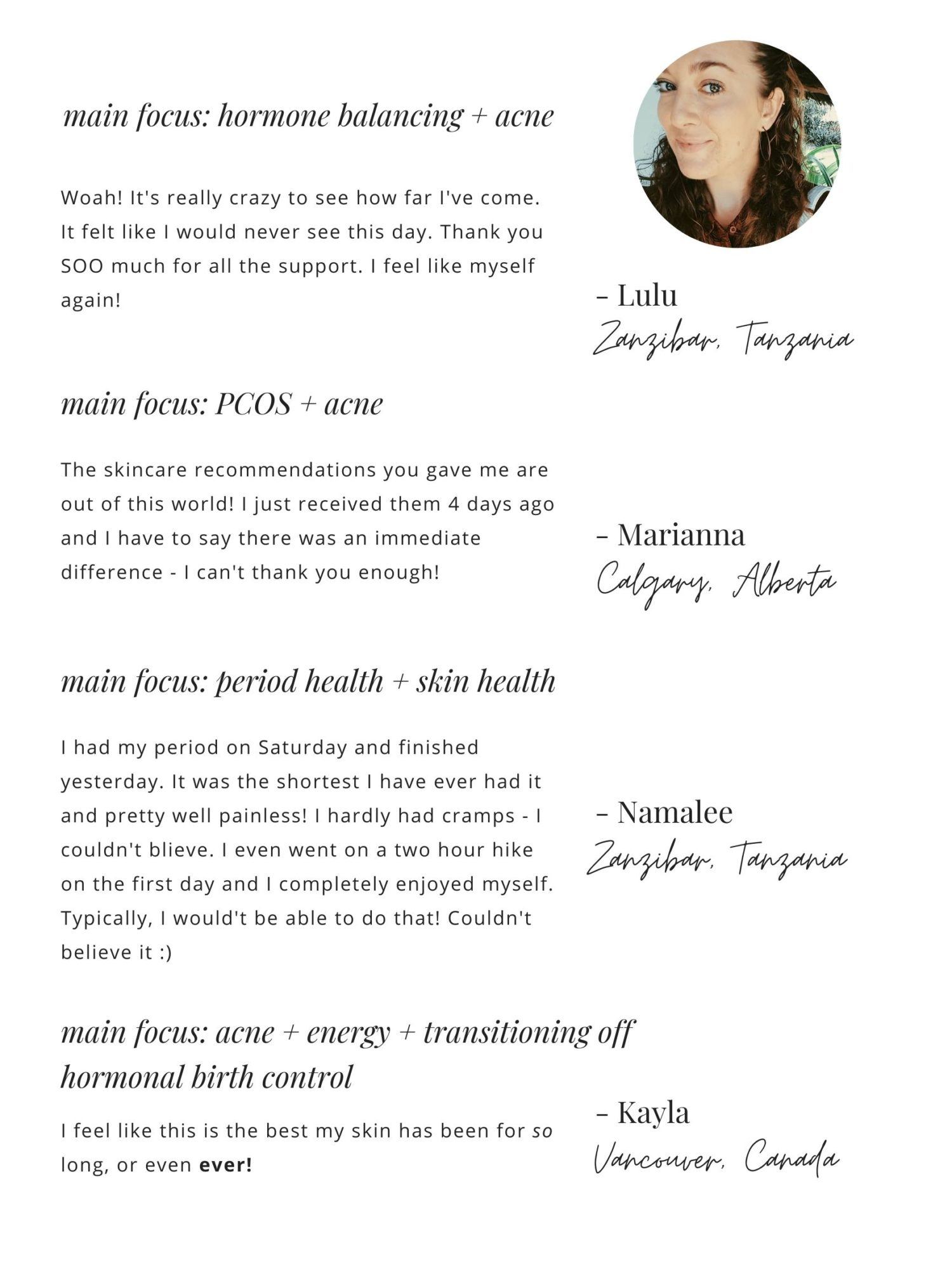 The Acne Solution Program