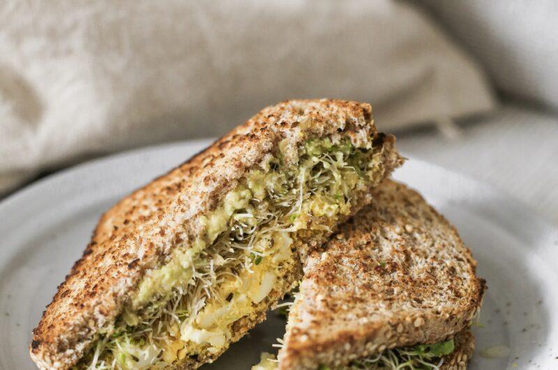 The Best Healthy Egg Salad Sandwich Recipe